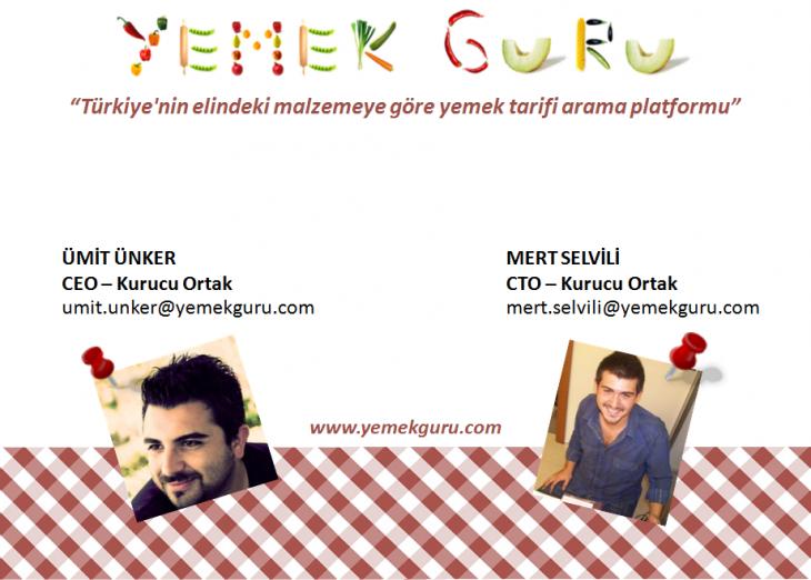 Yemekguru'dan Mert Selvili ve Ümit Ünker ile Röportaj - muraterdor.com