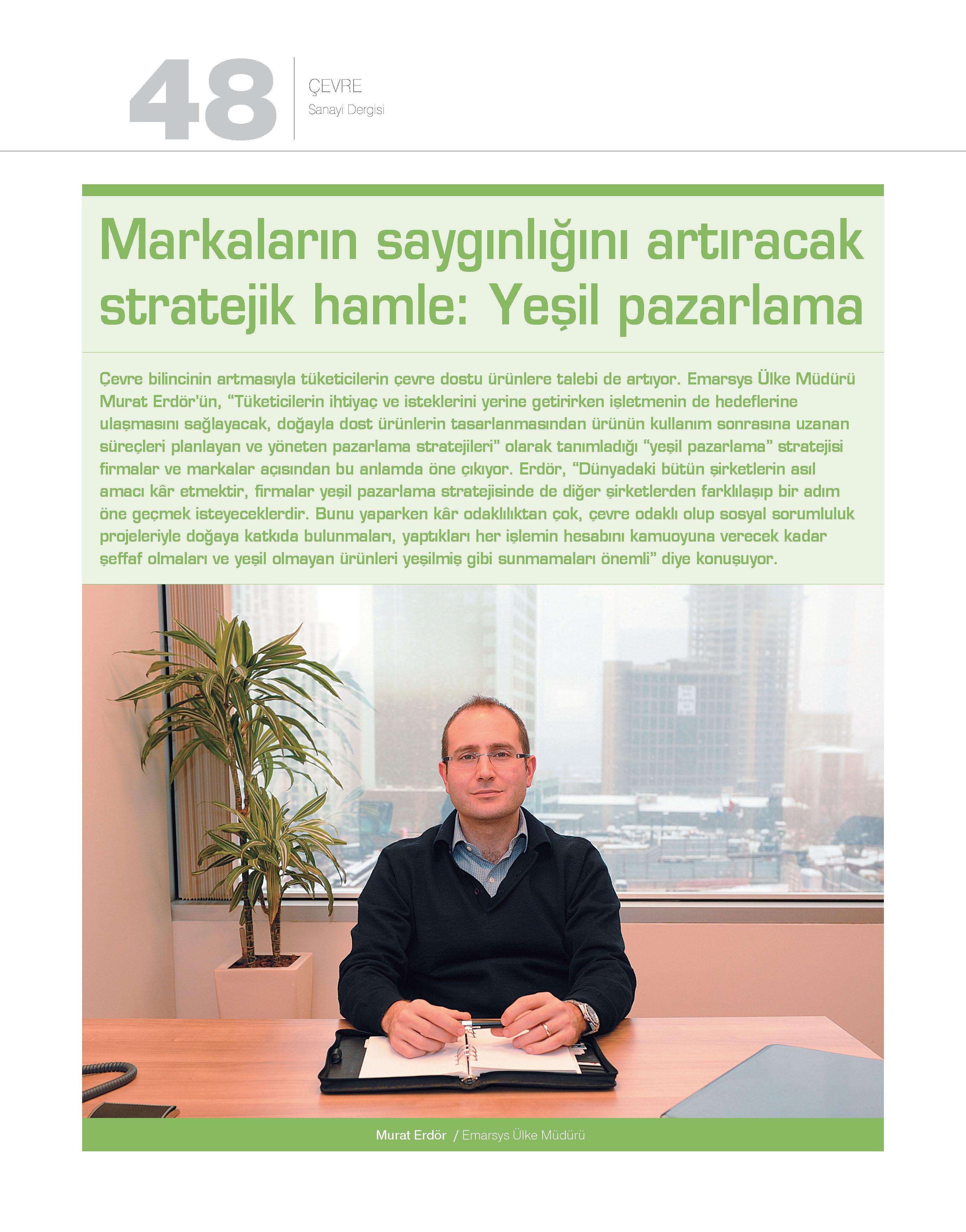 72 - İstanbul Sanayi Odası Dergisi_muraterdor.com_Mart 2013